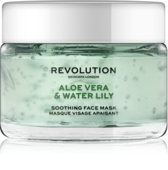 Revolution Skincare Aloe Vera & Water Lily maschera lenitiva viso