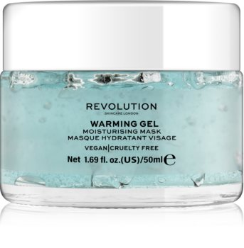 Revolution Skincare Warming Gel masca faciala hidratanta