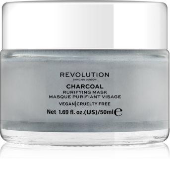 Revolution Skincare Charcoal maska za čišćenje lica