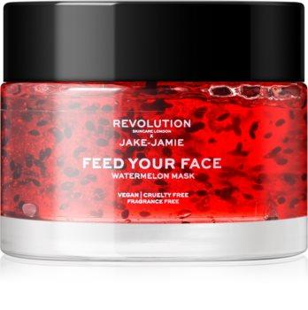 Revolution Skincare X Jake-Jamie Watermelon maseczka nawilżająca do twarzy