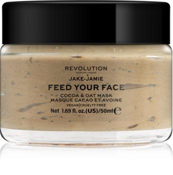 Revolution Skincare Jake-Jamie Cocoa & Oat зволожуюча маска