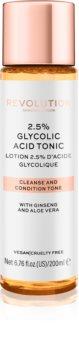 Revolution Skincare Glycolic Acid 2,5% tonic cu acid glicolic