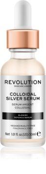 Revolution Skincare Colloidal Silver Serum siero attivo lisciante contorno occhi con ingrediente antibatterico