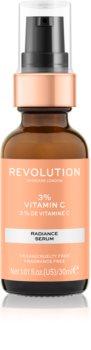 Revolution Skincare Vitamin C 3% rozjasňující sérum s vitaminem C