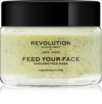 Revolution Skincare X Jake-Jamie Avocado máscara facial hidratante com efeito peeling