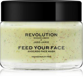 Revolution Skincare X Jake-Jamie Avocado mascarilla facial hidratante con efecto exfoliante