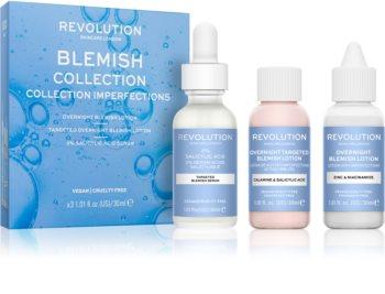 Revolution Skincare Blemish Collection coffret (para pele oleosa e problemática)