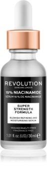 Revolution Skincare Niacinamide 15% hydratisierendes Serum für problematische Haut, Akne