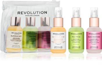 Revolution Skincare Mini Essence So Soothing coffret para cuidado da pele (para apaziguar a pele)