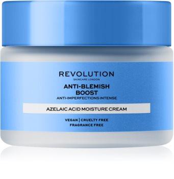Revolution Skincare Boost Anti Blemish Azelaic Acid Rauhoittava Ja Kosteuttava Voide Hyperpigmentaation Omaavalle Iholle