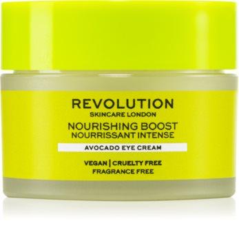 Revolution Skincare Boost Nourishing Avocado crema nutritiva para contorno de ojos