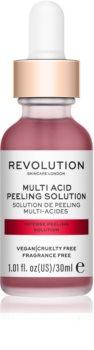 Revolution Skincare Multi Acid scrub βαθιάς απολέπισης με ΑΗΑ