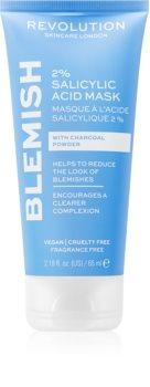 Revolution Skincare Blemish 2% Salicylic Acid čisticí maska s 2% kyselinou salicylovou