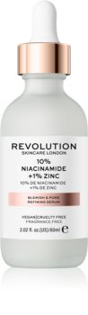 Revolution Skincare 10% Niacinamide + 1% Zinc ser pentru pori dilatati