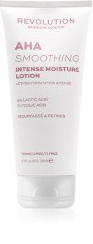 Revolution Skincare Body AHA (Smoothing) hidratantno mlijeko za tijelo