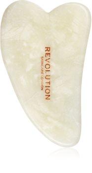 Revolution Skincare Gua Sha Jade accesoriu de masaj facial