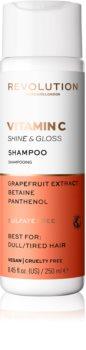 Revolution Haircare Skinification Vitamin C erfrischendes Shampoo spendet Feuchtigkeit und Glanz