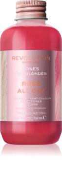 Revolution Haircare Tones For Blondes tönendes Balsam für blonde Haare