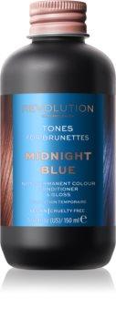Revolution Haircare Tones For Brunettes balsam pentru tonifiere pentru nuante de par castaniu