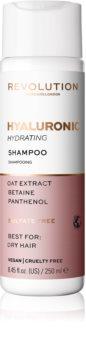 Revolution Haircare Skinification Hyaluronic hydratisierendes Shampoo für trockenes Haar