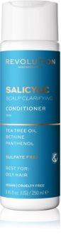 Revolution Haircare Skinification Salicylic čisticí kondicionér pro mastné vlasy