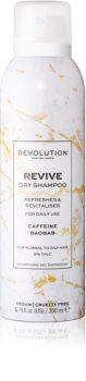 Revolution Haircare Dry Shampoo Revive osvěžující suchý šampon s kofeinem