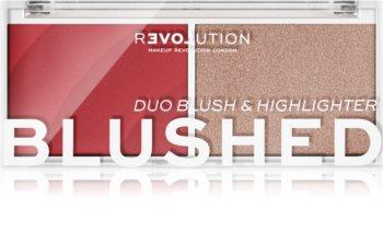 Revolution Relove Colour Play blush et enlumineur