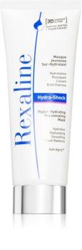 Rexaline 3D Hydra-Shock mască gel hidratantă revitalizantă pentru ten normal spre uscat