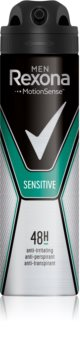Rexona Sensitive antiperspirant v spreji 48h