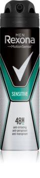 Rexona Sensitive antiperspirant ve spreji 48h
