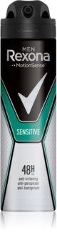 Rexona Sensitive antitranspirante em spray 48 h