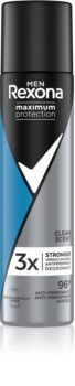 Rexona Maximum Protection Clean Scent Antiperspirant Spray to Treat Excessive Sweating