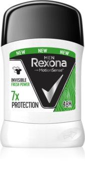 Rexona Invisible Fresh Power tuhý antiperspirant pro muže