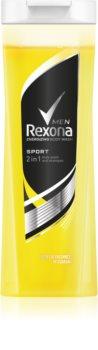 Rexona Sport sprchový gél a šampón 2 v 1