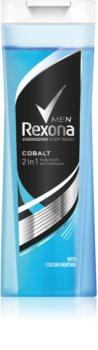 Rexona Cobalt Shower Gel And Shampoo 2 In 1