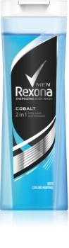 Rexona Cobalt sprchový gél a šampón 2 v 1