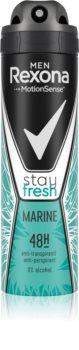 Rexona Men Stay Fresh Marine Antiperspirant Spray 48h