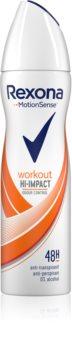 Rexona Workout Hi-Impact antiperspirant ve spreji 48h