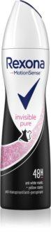 Rexona Invisible Pure antitraspirante spray