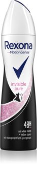 Rexona Invisible Pure spray anti-transpirant