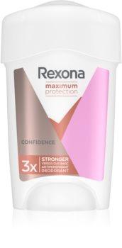 Rexona Maximum Protection Confidence antitranspirante en crema contra el exceso de sudor