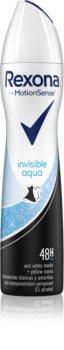 Rexona Invisible Aqua antitranspirante en spray