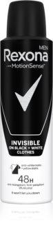 Rexona Invisible on Black + White Clothes Antitranspirant-Spray 48h