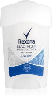 Rexona Maximum Protection Clean Scent antitraspirante in crema 48 ore