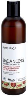 Rica Naturica Balancing Remedy šampon pro obnovu rovnováhy pro mastné vlasy a vlasovou pokožku