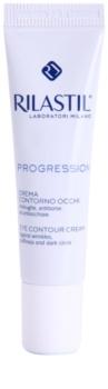 Rilastil Progression crema para contorno de ojos antiarrugas, antibolsas y antiojeras