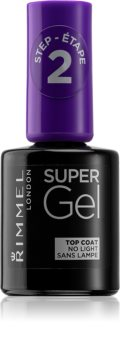 Rimmel Super Gel Step 2 verniz de cobertura protetor para dar brilho