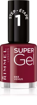 Rimmel Super Gel unhas de gel sem usar lâmpada UV/LED