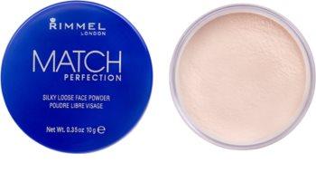 Rimmel Match Perfection poudre de fixation transparente