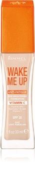 Rimmel Wake Me Up fond de teint liquide éclat SPF 20